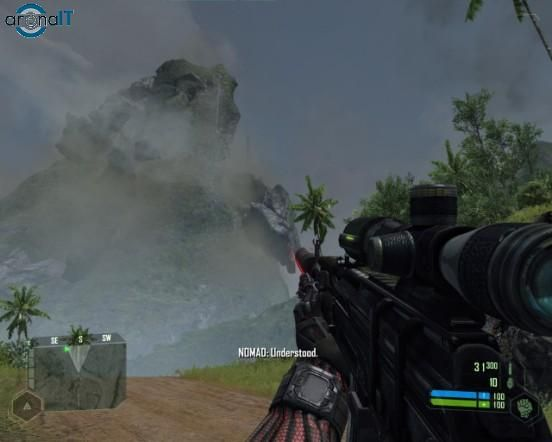 Crysis - mountain