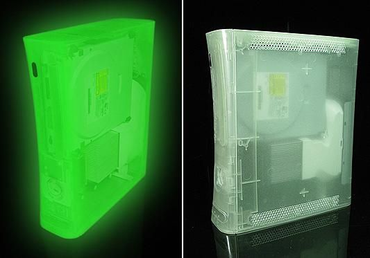 XCM Xbox 360 glowing case