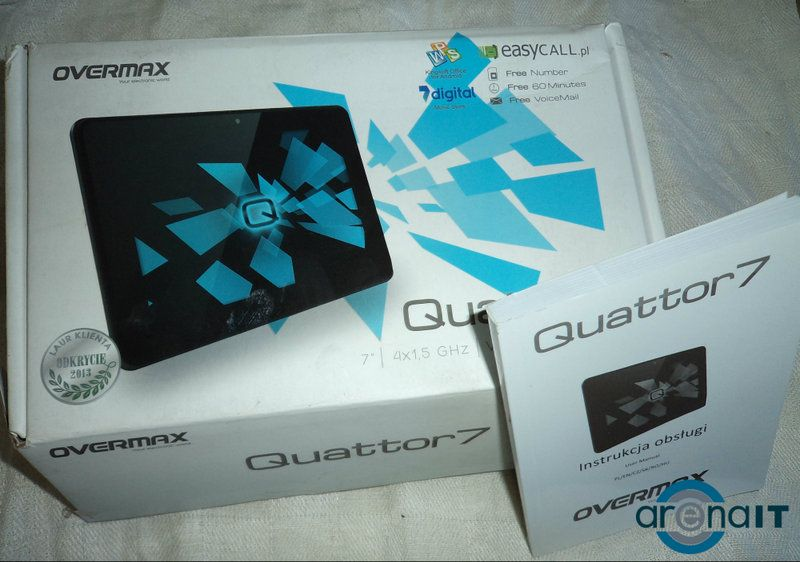 Review Overmax Quattor 7
