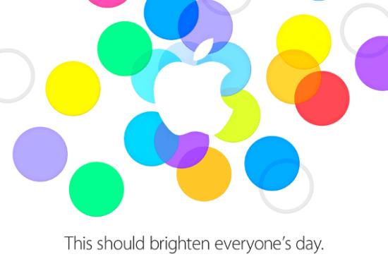 lansare apple 10 septembrie 550x367 iPhone 5S, 5C si un nou iPad Mini in 10 septembrie?