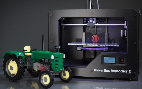 Imprimanta 3D MakerBot Replicator 2