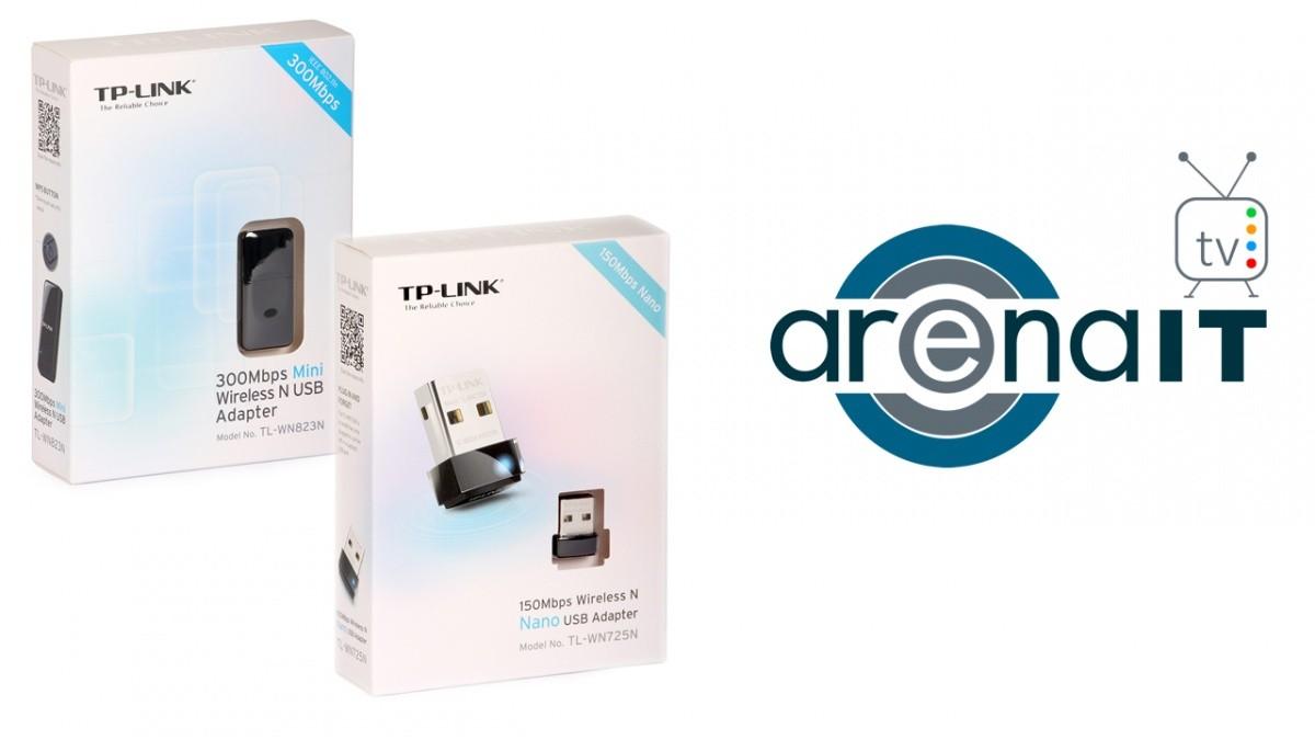 Review Adaptoare Wireless Usb De La Tp Link Tl Wn823n Si Wn725n 300mbps Mini N Adapter Arena It
