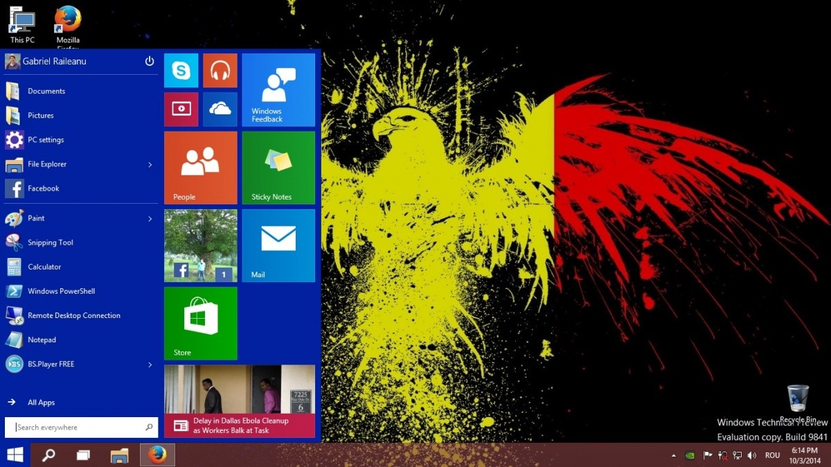 Primele impresii despre Windows 10