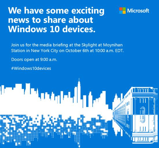 Microsoft-Windows-10-hardware-event