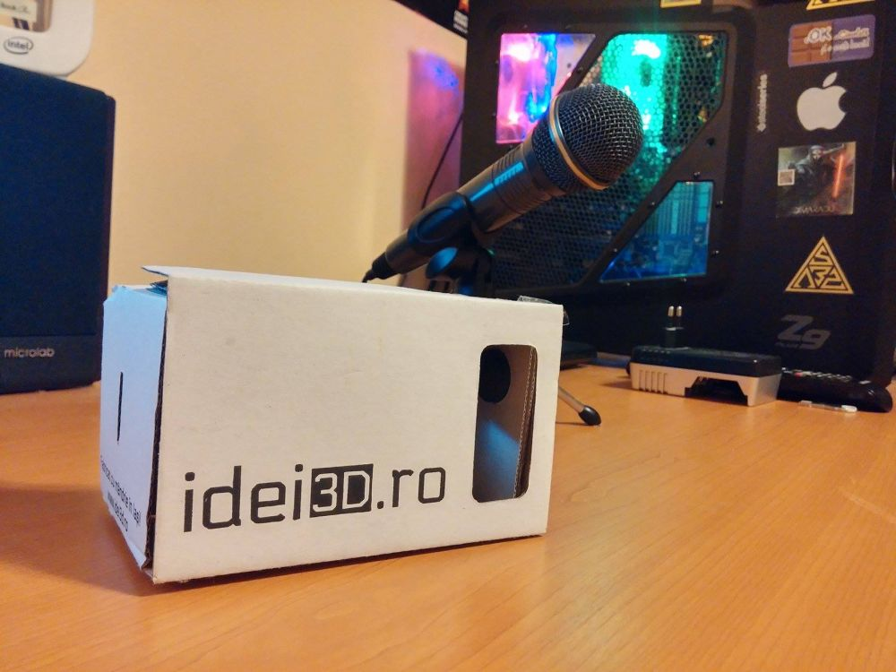 Ochelari VR produsi in Iasi