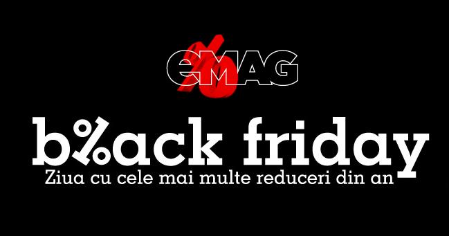 1.1 milioane produse vandute de eMAG: pentru ca Black Friday e o teapa si romanii nu au bani