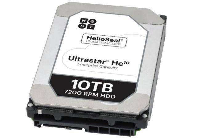 HDD-ul de 10 TB de la HGST este umplut cu heliu