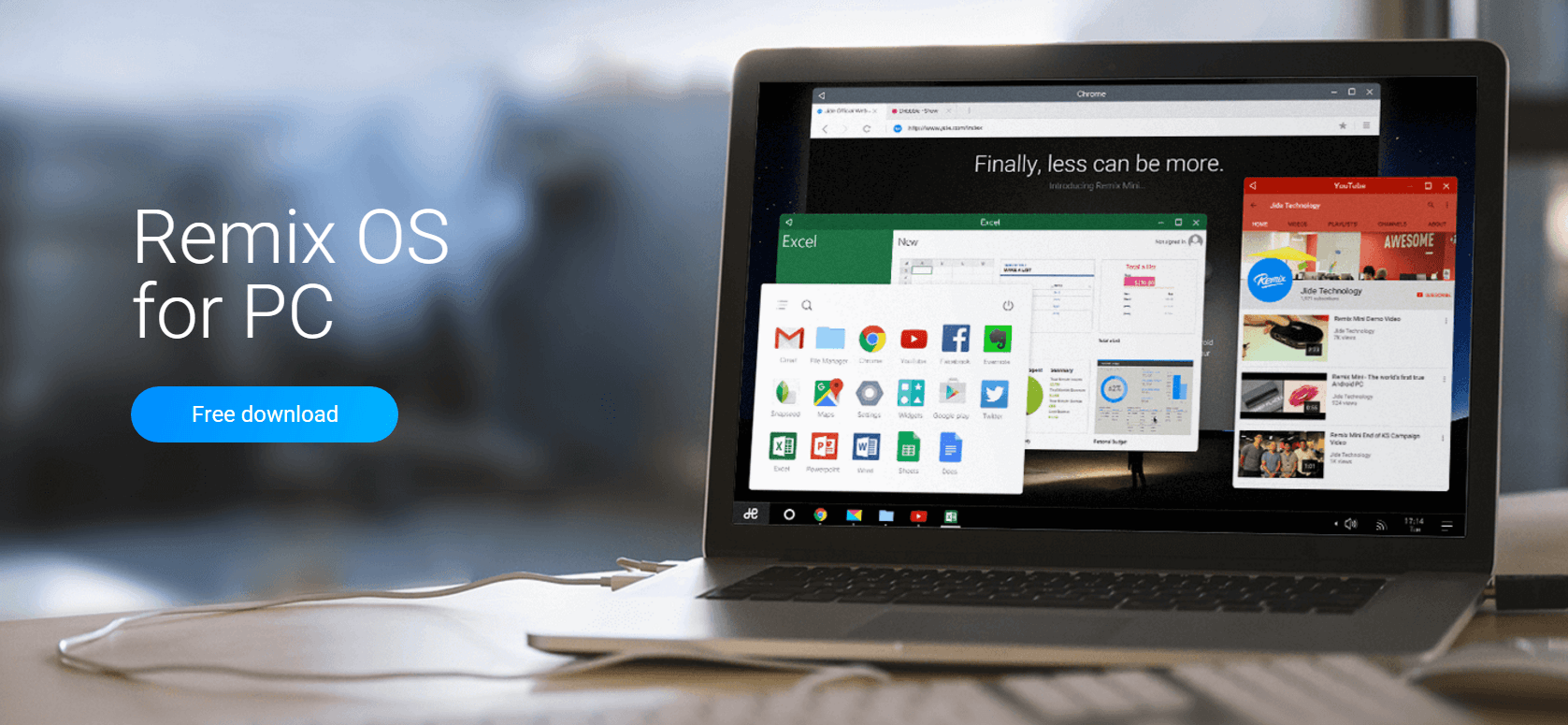 Remix OS PC lansat: download si primele impresii