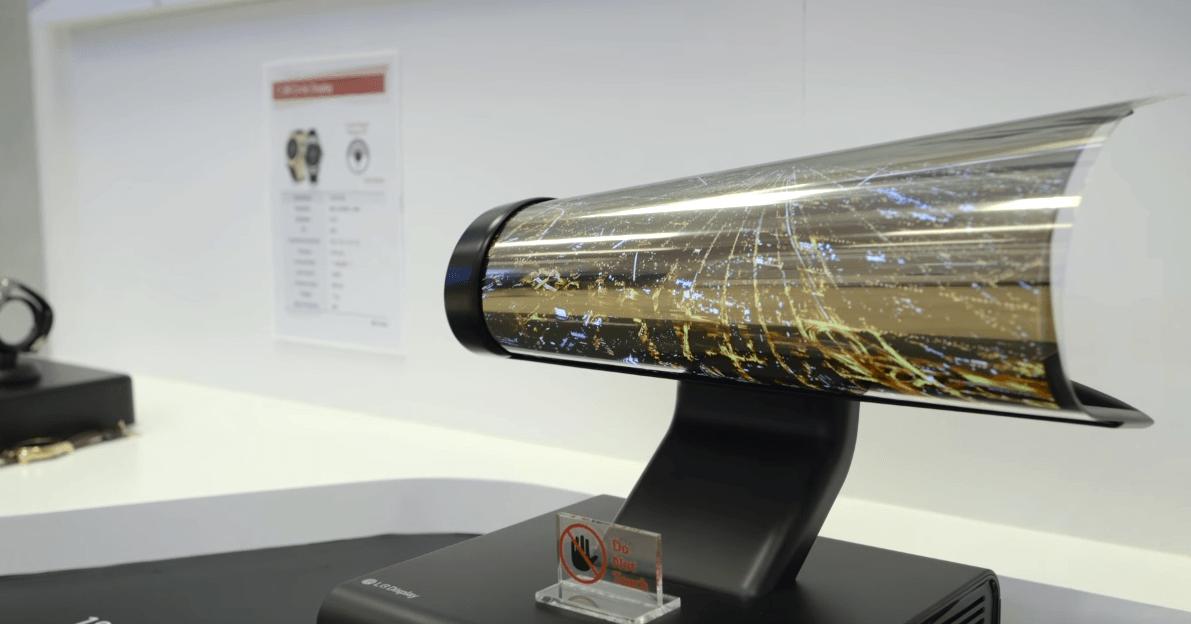 CES 2016 – LG a prezentat un prototip de ecran flexibil