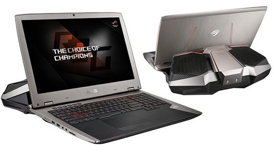 Asus lanseaza laptop-uri cu doua GTX 1080 racite cu apa