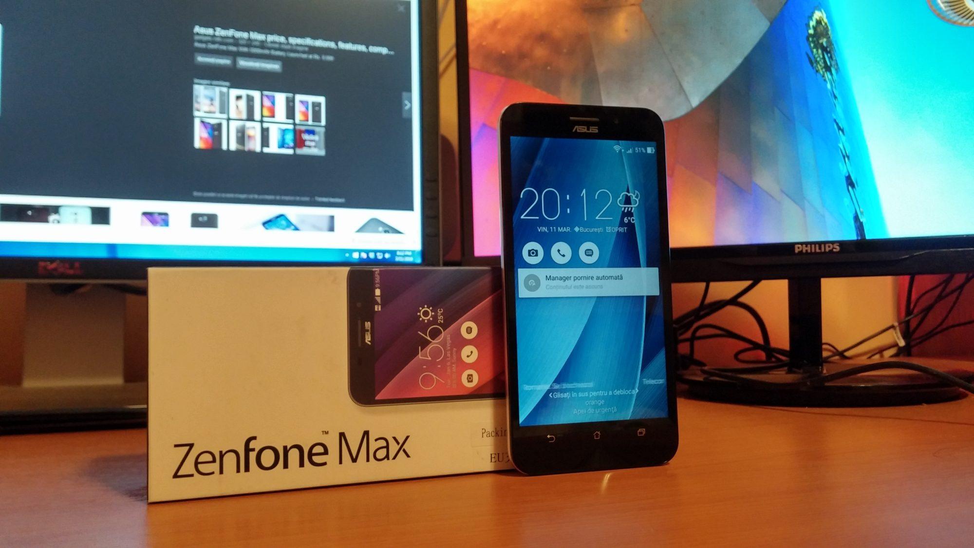 Unboxing ASUS ZenFone Max