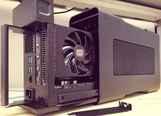 AMD vrea standard pentru placi video externe