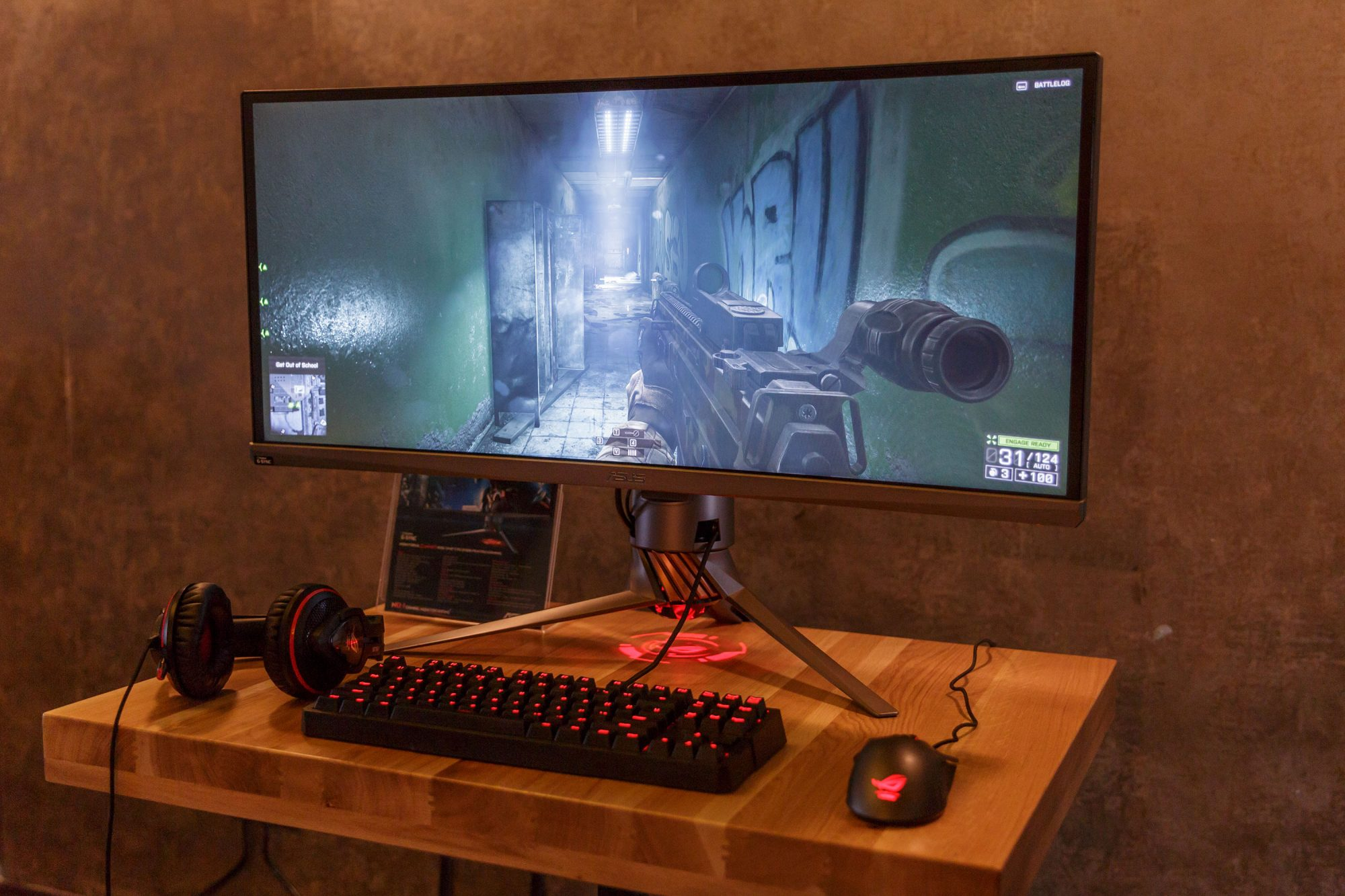 ASUS a prezentat in Romania monitorul de gaming PG348Q