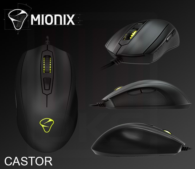 Unboxing Mionix Castor – mouse ergonomic si performant