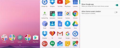 Noul launcher Google este mult modificat