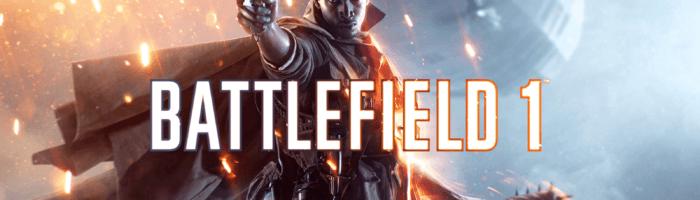 DICE lanseaza un nou patch pentru Battlefield 1