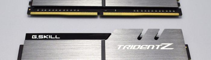 Kit memorie RAM DDR4 G.SKILL TridentZ F4-3200 CL15 16 GB (scurt review)