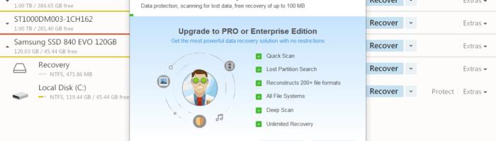 Disk Drill – aplicatie de recuperat date sterse de pe HDD