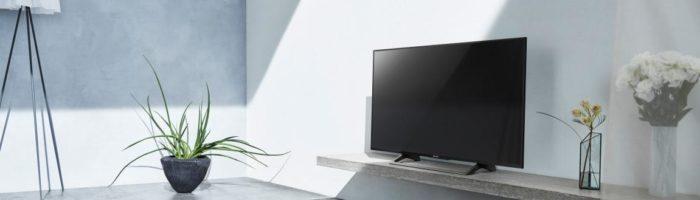 Televizoare Sony 4K si cu HDR