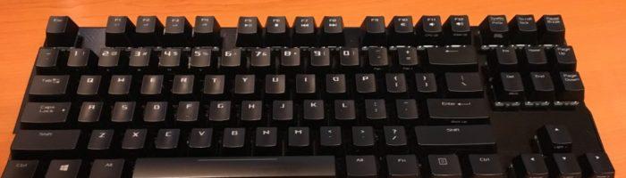Review tastatura ASUS ROG Claymore Core