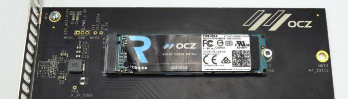 Review SSD NVMe Toshiba OCZ RD400 512GB