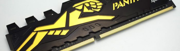 Scurt review memorie RAM Apacer Panther DDR4 4GB 2400 Mhz CL16