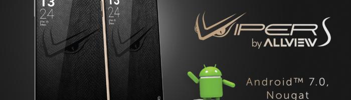 Allview V2 Viper S primeste Android Nougat