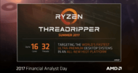 AMD Ryzen Threadripper: specificatii, pret, disponibilitate