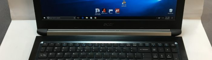 Review laptop Acer Aspire 7 A715-71G