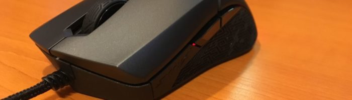 Review mouse ASUS Strix Evolve