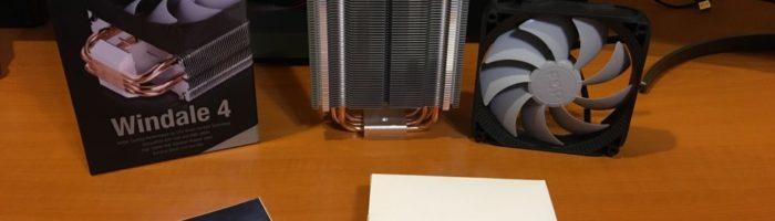 Prezentare cooler FSP Windale 4 cu prindere pentru AM4 Ryzen
