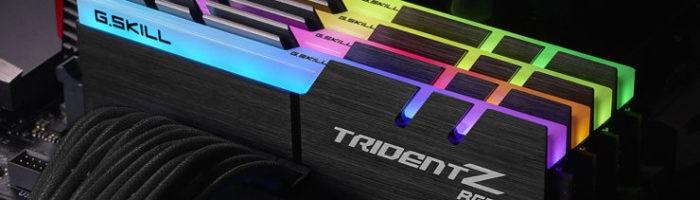 G.SKILL anunță noi kit-uri de memorii TridentZ RGB cu frecvențe de până la 4266 Mhz