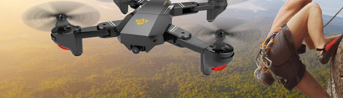 VISUO XS809HQ – drona ieftina pentru divertisment