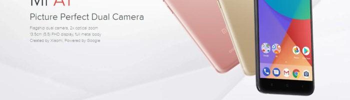 Xiaomi Mi A1 din nou la oferta – 909 lei este cel mai mic pret