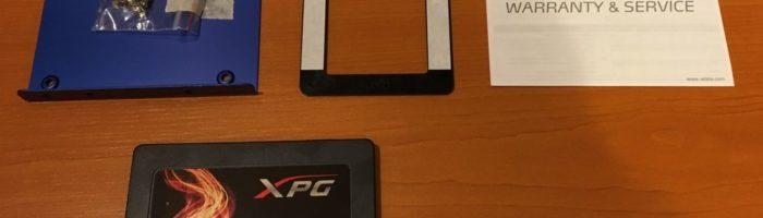 Test cu SSD-ul ADATA SX950