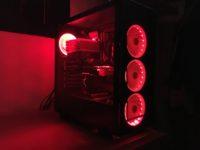 FSP CMT 510 RGB – carcasa din sticla temperata cu iluminare RGB