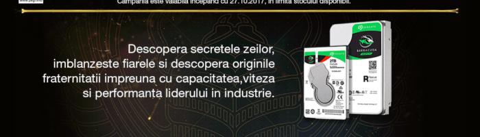 Oferta: cumperi un HDD Seagate si primesti Assassin's Creed Origins